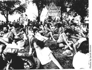 March for Jobs, Peace, and Freedom. NJA Newsletter # 13, Fall 1983. Photo by Jacob Bender.